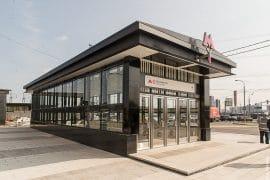 Кожуховская линия московского метрополитена станция «Лухмановская»