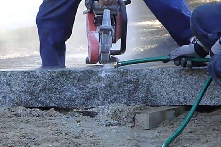 Алмазная резка твердых и мягких материалов